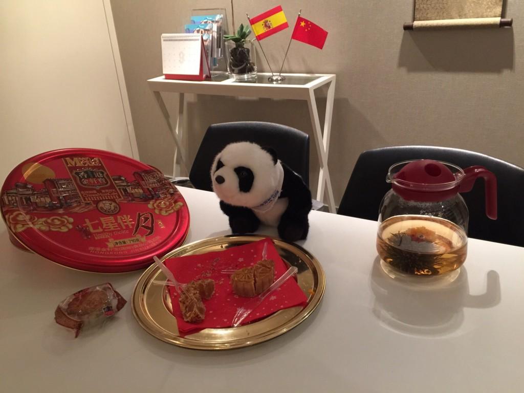 Imagenes Desayuno China y España